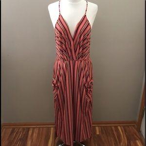 BCBGENERATION Multicolored Striped Dress
